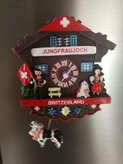 🚚 AUTO SWINGING CUCKOO CLOCK FROM SWITZERLAND