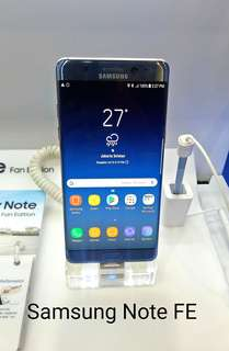 Bunga 0,99% Samsung Note FE Kredit Tanpa Kartu Kredit