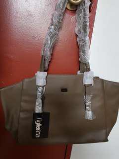 David Jones Figlarina Shoulder Bag Green