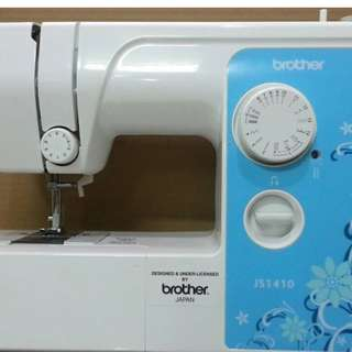 Mesin jahit brother JS 1410 portable second