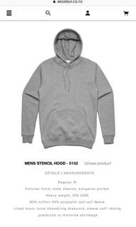 Grey AS Colour Hoodie