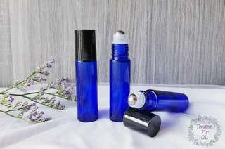 🚚 10ml Glass Roller Bottles - Blue