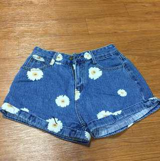🚚 S-M花短褲