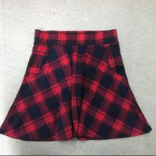 Cotton On Flannel Skater Skirt