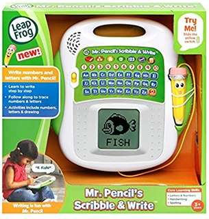 🚚 (Pre-Order)  LeapFrog Mr. Pencil's Scribble & Write