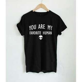 🚚 You Are My Human Unisex Design Apparel  Tshirt Tee