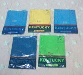 5pcs. Medium size for adults Kentucky Sando