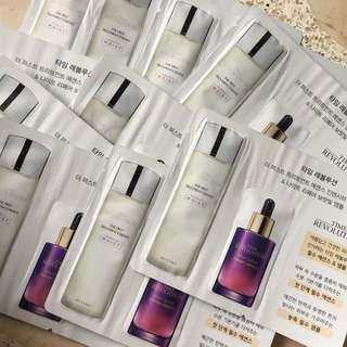Missha Time Revolution Samples