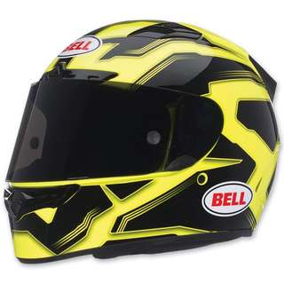 Bell Vortex SIZE X-LARGE XL ONLY Adult Full Face Street Helmet Manifest Yellow Black Motorcycle Motorbike Helmet D.O.T.Certified
