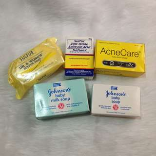 Face & Body Soaps