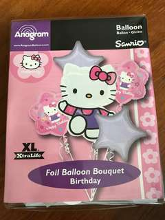 Hello Kitty Foil balloons Bouquet