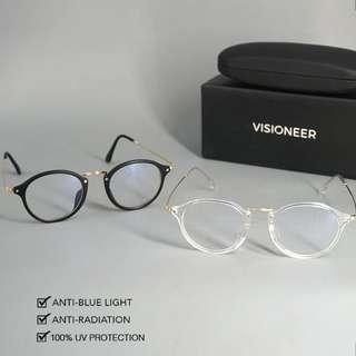 Pre-Order FRED by Fiévre/Visioneer Eye Safe Anti-Radiation Glasses