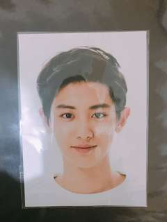 EXO COEX Artium SUM Official Limited Chanyeol Postcard