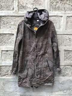H&M Long Jacket Camo
