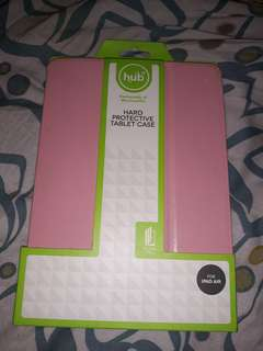Ipad air pink hard protective case (hub)