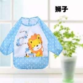 🚚 寶寶防水罩衫/圍兜/長袖/1-3歲