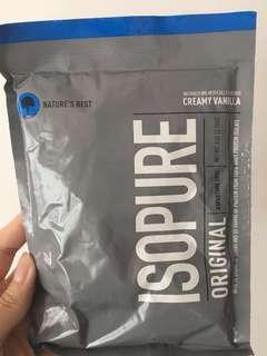 代餐 isopure original creamy vanilla