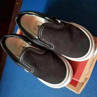 Vans Classic Black Slip Ons