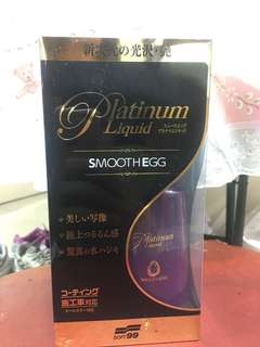 Soft99 platinum liquid smoothegg
