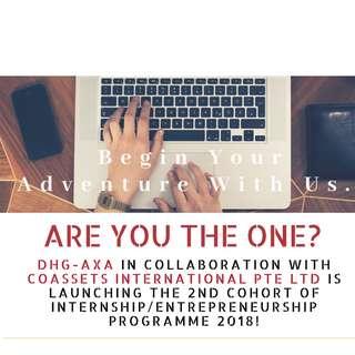 Internship / Entrepreneurship Programme 2018