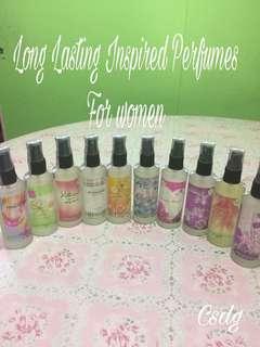 Eu de Parfume Long Lasting Inspired Perfumes