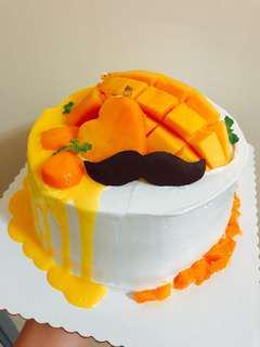 季節限定 芒果鮮忌廉蛋糕