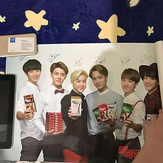 EXO Official Pepero Poster B