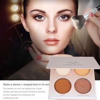 🦋Women's Contour Powder Glow Brighten Concealer Palette Base🦋