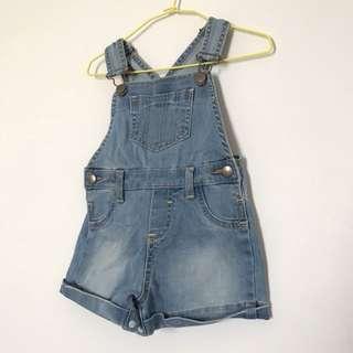 🚚 Lativ 寶寶吊帶短褲