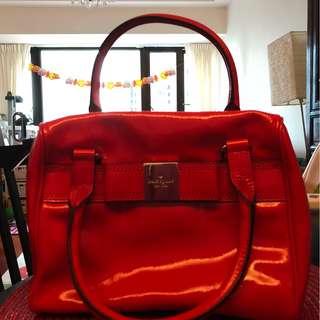 Kate Spade 橙紅色手提包