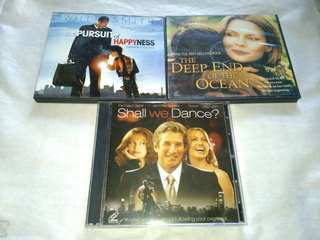 Original VCD Movies of Will Smith Richard Geere Michelle Pfeiffer #garagesale3