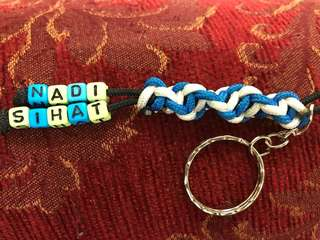 Tactical Cord Keychain Handmade