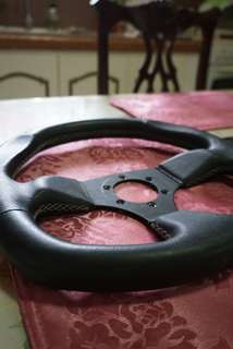 Racing Leather Steering Wheel