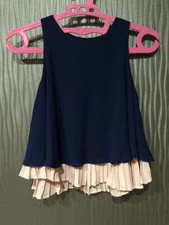 MDS Navy Top size XS