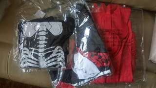 3 sets of Halloween costume one piece