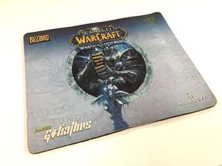 Limited Edition Warcraft Razer mouse pad