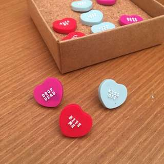 PUSH PINS BY TYPO