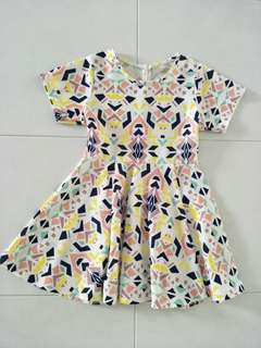 Triangle doll dress