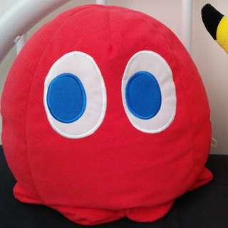 Blinky Red Pac-Man Ghost Plush