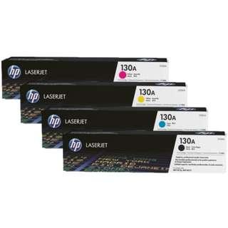 HP 130A LaserJet 碳粉盒 (1套4色)
