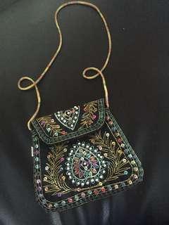 Sling bag payet free ongkir