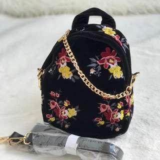 Zara sling backpack
