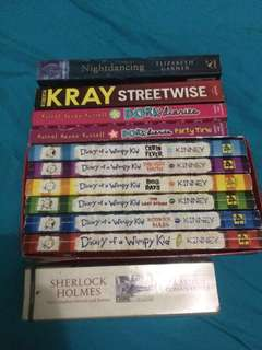 Diary of wimpy kid plus 5books