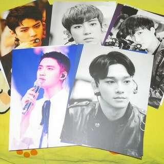 EXO三巡安可明信片