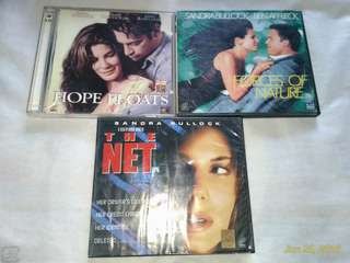 Sandra Bullock Original VCD movies #garagesale3