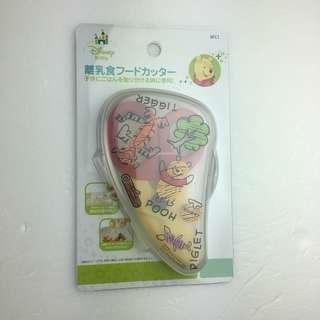 🚚 日本迪士尼正版維尼寶寶食物剪