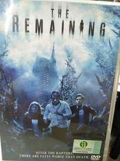 The remaining English movie DVD
