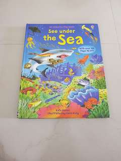 Usborne Flap Book - See under the sea