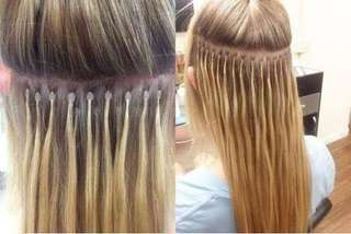Hair Extensions Installation Service