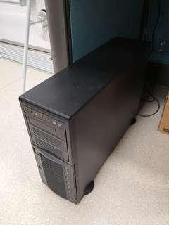 Video gaming workstation 12 core dual CPU